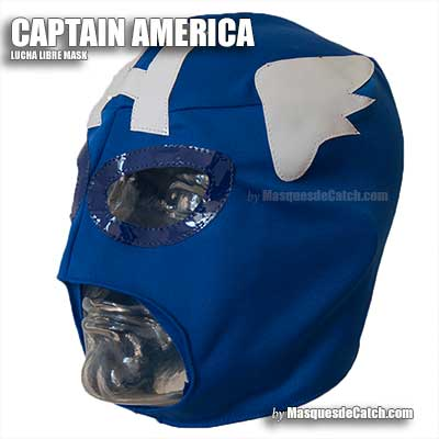Masque Captain America enfant