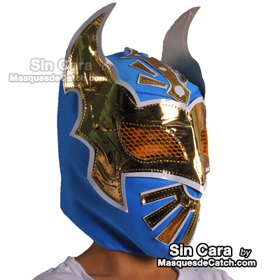 Kids Sin Cara Mask Blue  sc 1 st  Masques de Catch : sin cara costumes for kids  - Germanpascual.Com