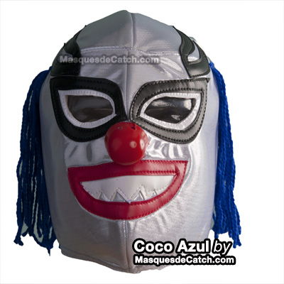 Masque Coco Azul  (Clown Bleu)