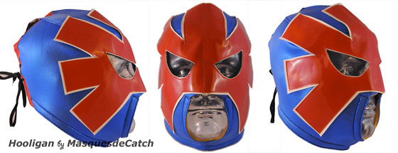 "Masque de catcheur ""Hooligan"""
