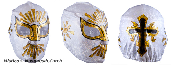 Masque de Catch Mistico - Semi Pro
