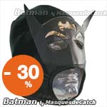 "Masque de catch ""Batman"" Deguisement Adulte"