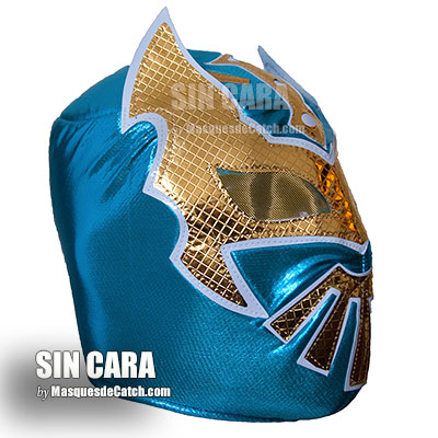 "Masque de Catch ""Sin cara"" Adulte - Premium"
