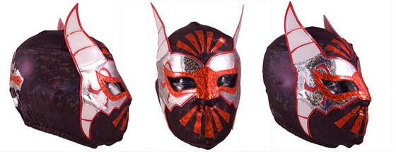 Masque de Catch Mistico Rudo - Semi-Pro