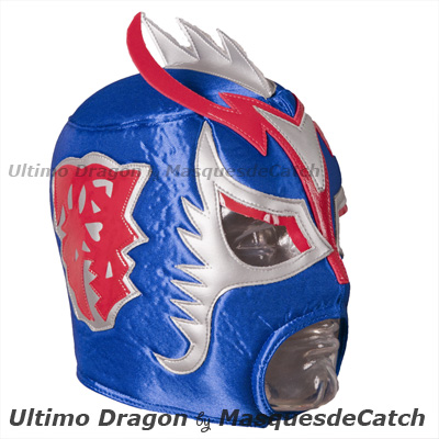 "Masque de Catch ""Ultimo Dragon"" - Original BLUE"