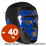 "Masque de Catch ""Mano Negra"" Lucha Libre"