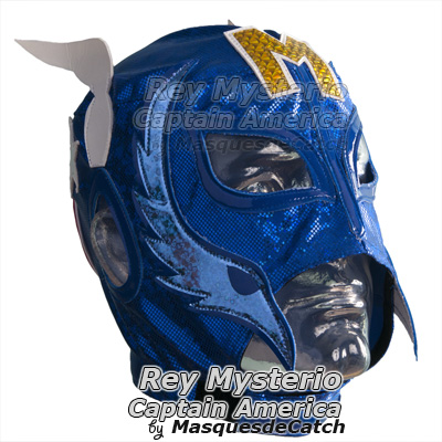 Masque de Catch Rey Mysterio Semi-Pro