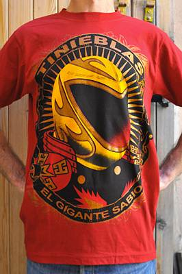 "T-shirt catch ""Tinieblas"""
