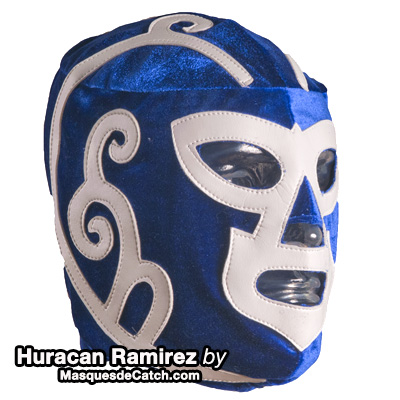 "Masque de Catch ""Huracan Ramirez"" en velour"
