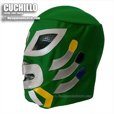 "Masque de Catch ""Cuchillo"""