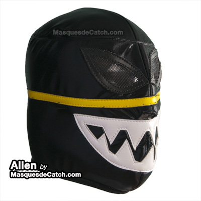Masque Lucha Libre Alien Adulte