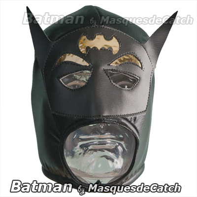 masque catch batman masque pour d guisement lucha libre. Black Bedroom Furniture Sets. Home Design Ideas