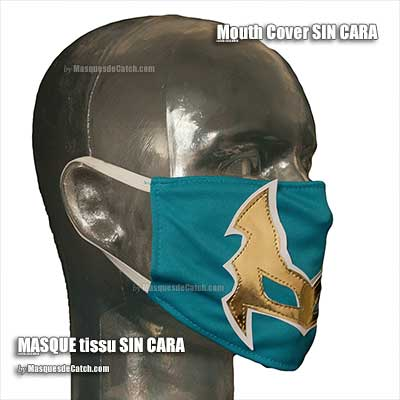 Masque Mouth Cover Sin Cara