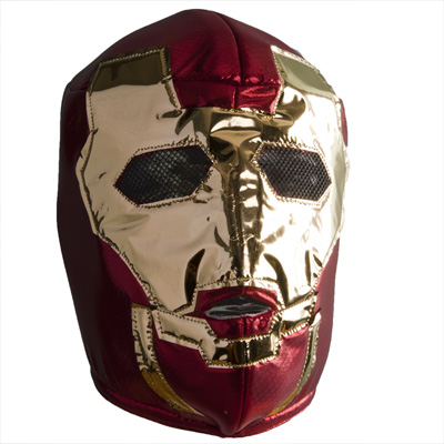 "Masque catch ""Iron Man"""