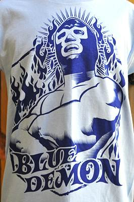 "T-shirt catch ""Blue Demon"""