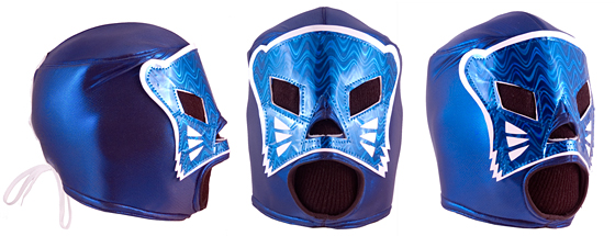 "Masque de Catch ""Blue Panther"""