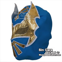 "Masque de Catch ""Sin cara"" Adulte en tissus"