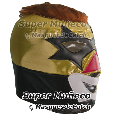 "Masque de catch ""Super Muñeco"""