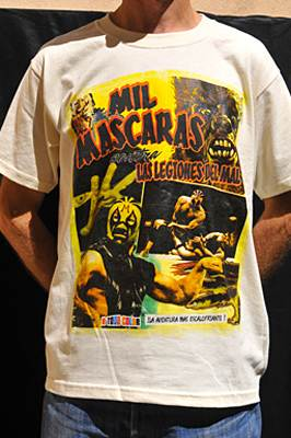 T-shirt catch Mil Mascaras Comic